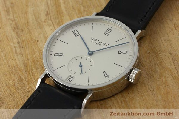 Used luxury watch Nomos Tangomat steel automatic Kal. Zeta 3104  | 150094 01