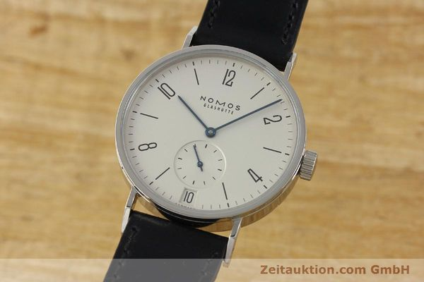 Used luxury watch Nomos Tangomat steel automatic Kal. Zeta 3104  | 150094 04