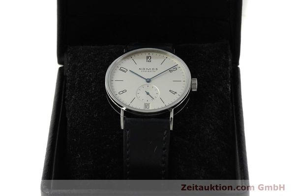 Used luxury watch Nomos Tangomat steel automatic Kal. Zeta 3104  | 150094 07
