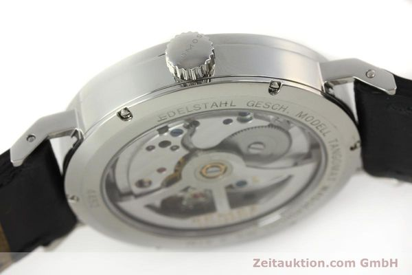 Used luxury watch Nomos Tangomat steel automatic Kal. Zeta 3104  | 150094 08