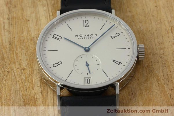 Used luxury watch Nomos Tangomat steel automatic Kal. Zeta 3104  | 150094 15