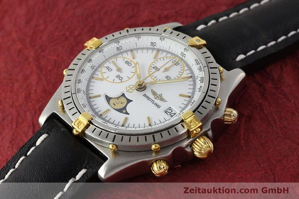 Used luxury watch Breitling Chronomat chronograph steel / gold automatic Kal. VAL 7758 Ref. 81950  | 150095 01