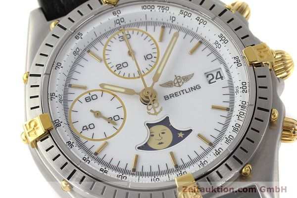 Used luxury watch Breitling Chronomat chronograph steel / gold automatic Kal. VAL 7758 Ref. 81950  | 150095 02