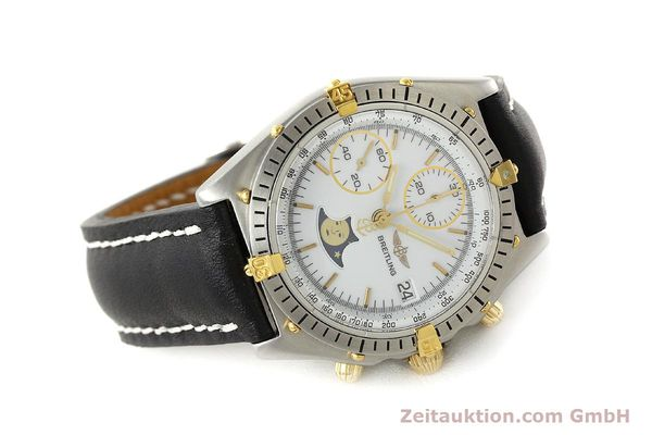 Used luxury watch Breitling Chronomat chronograph steel / gold automatic Kal. VAL 7758 Ref. 81950  | 150095 03