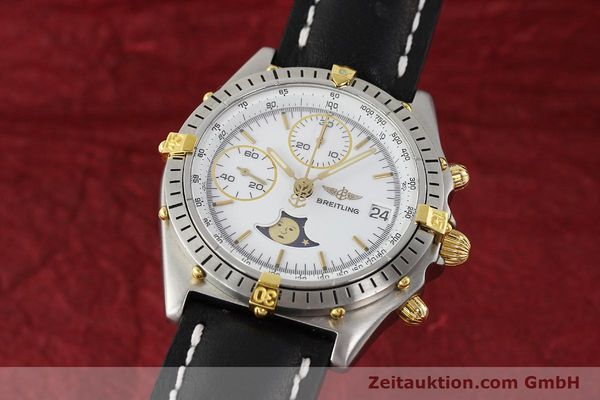 Used luxury watch Breitling Chronomat chronograph steel / gold automatic Kal. VAL 7758 Ref. 81950  | 150095 04