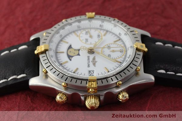 Used luxury watch Breitling Chronomat chronograph steel / gold automatic Kal. VAL 7758 Ref. 81950  | 150095 05