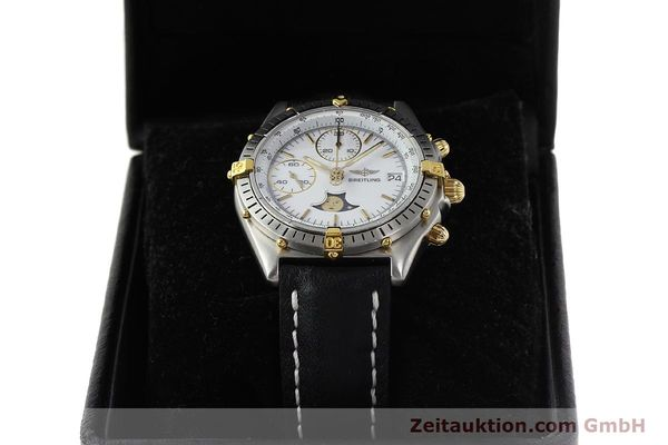 Used luxury watch Breitling Chronomat chronograph steel / gold automatic Kal. VAL 7758 Ref. 81950  | 150095 07