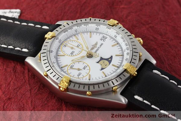 Used luxury watch Breitling Chronomat chronograph steel / gold automatic Kal. VAL 7758 Ref. 81950  | 150095 13
