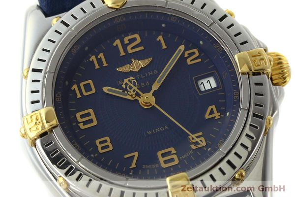 Used luxury watch Breitling Wings steel / gold quartz Kal. B67 ETA 956612 Ref. B67050  | 150099 02
