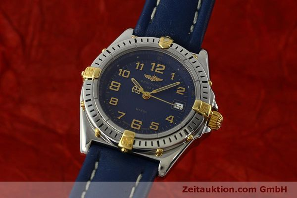 Used luxury watch Breitling Wings steel / gold quartz Kal. B67 ETA 956612 Ref. B67050  | 150099 04