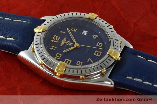Used luxury watch Breitling Wings steel / gold quartz Kal. B67 ETA 956612 Ref. B67050  | 150099 14