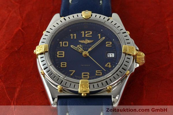 Used luxury watch Breitling Wings steel / gold quartz Kal. B67 ETA 956612 Ref. B67050  | 150099 15