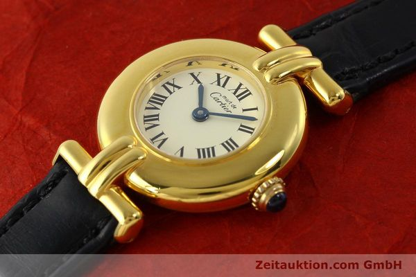 Used luxury watch Cartier Vermeil silver-gilt quartz Kal. 90  | 150100 01