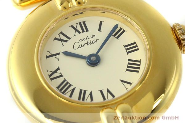 Used luxury watch Cartier Vermeil silver-gilt quartz Kal. 90  | 150100 02