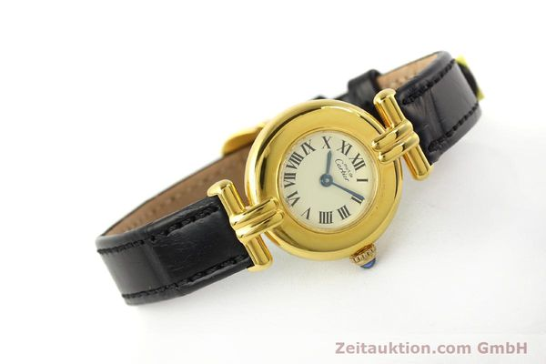 Used luxury watch Cartier Vermeil silver-gilt quartz Kal. 90  | 150100 03
