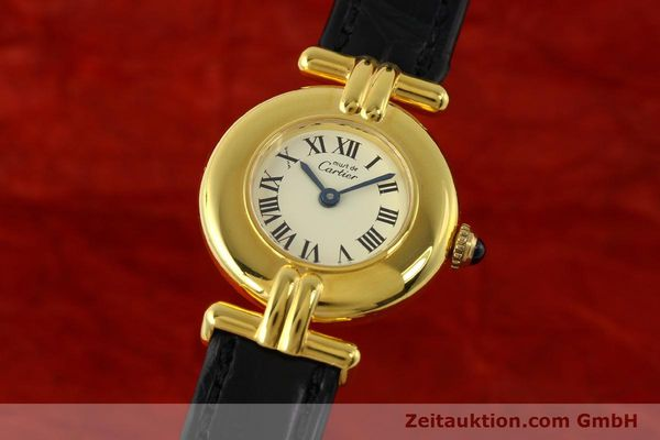 Used luxury watch Cartier Vermeil silver-gilt quartz Kal. 90  | 150100 04