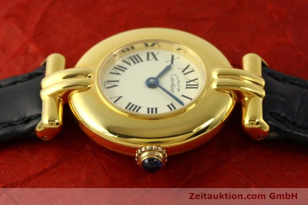 Used luxury watch Cartier Vermeil silver-gilt quartz Kal. 90  | 150100 05