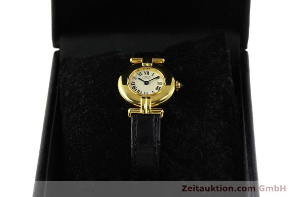 Used luxury watch Cartier Vermeil silver-gilt quartz Kal. 90  | 150100 07