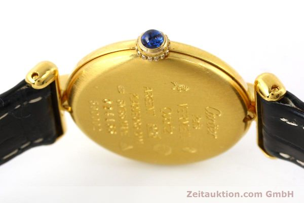 Used luxury watch Cartier Vermeil silver-gilt quartz Kal. 90  | 150100 08
