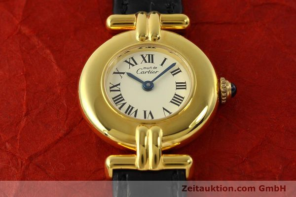 Used luxury watch Cartier Vermeil silver-gilt quartz Kal. 90  | 150100 13