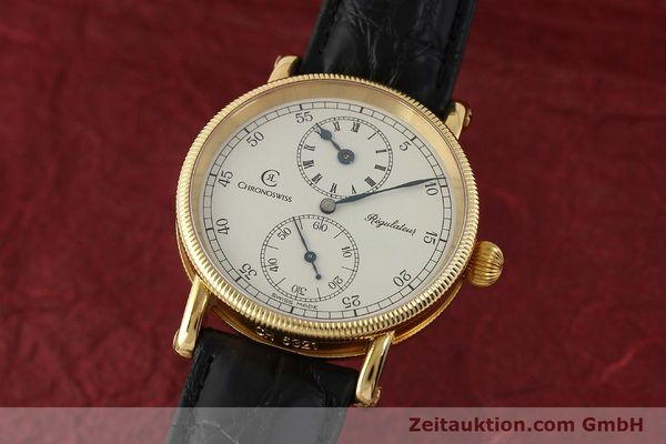 Used luxury watch Chronoswiss Regulateur 18 ct gold manual winding Kal. 6676 Ref. CH6321  | 150101 04