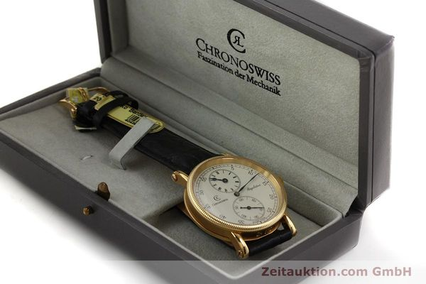 Used luxury watch Chronoswiss Regulateur 18 ct gold manual winding Kal. 6676 Ref. CH6321  | 150101 07