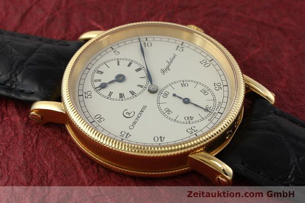 Used luxury watch Chronoswiss Regulateur 18 ct gold manual winding Kal. 6676 Ref. CH6321  | 150101 14