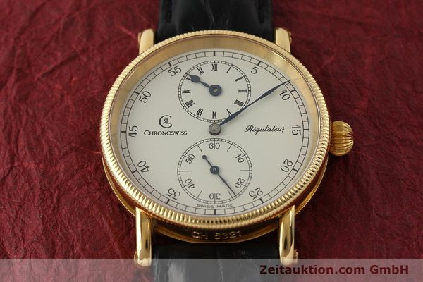 Used luxury watch Chronoswiss Regulateur 18 ct gold manual winding Kal. 6676 Ref. CH6321  | 150101 15