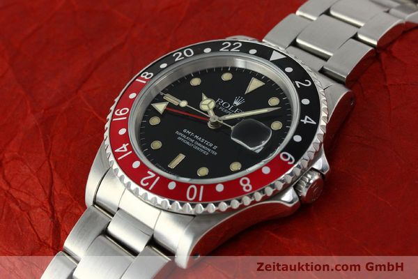 Used luxury watch Rolex GMT-Master II steel automatic Kal. 3185 Ref. 16710  | 150102 01
