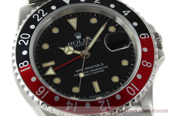 Used luxury watch Rolex GMT-Master II steel automatic Kal. 3185 Ref. 16710  | 150102 02