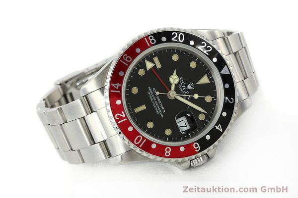 Used luxury watch Rolex GMT-Master II steel automatic Kal. 3185 Ref. 16710  | 150102 03