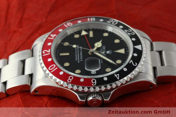 Used luxury watch Rolex GMT-Master II steel automatic Kal. 3185 Ref. 16710  | 150102 05