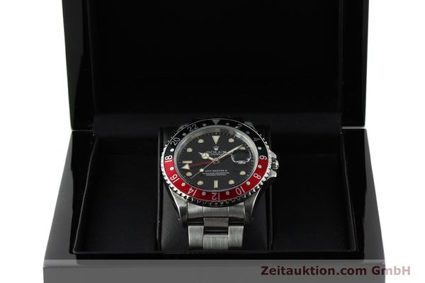 Used luxury watch Rolex GMT-Master II steel automatic Kal. 3185 Ref. 16710  | 150102 07