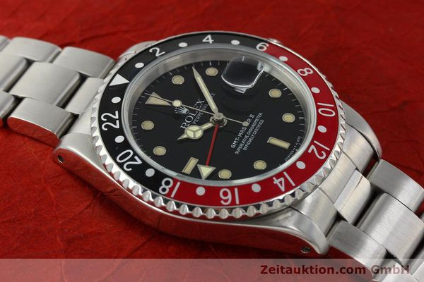 Used luxury watch Rolex GMT-Master II steel automatic Kal. 3185 Ref. 16710  | 150102 15
