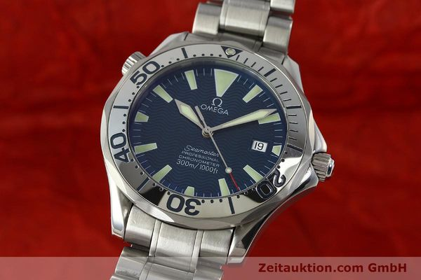 Used luxury watch Omega Seamaster steel automatic Kal. 1120 Ref. 25318000  | 150103 04