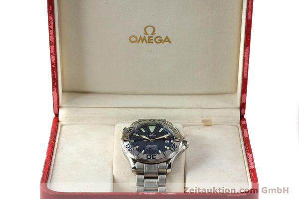 Used luxury watch Omega Seamaster steel automatic Kal. 1120 Ref. 25318000  | 150103 07