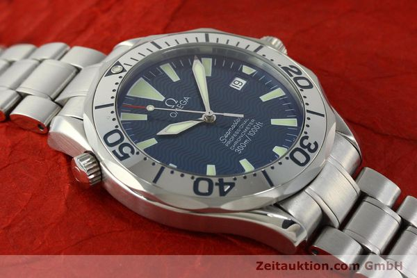 Used luxury watch Omega Seamaster steel automatic Kal. 1120 Ref. 25318000  | 150103 17
