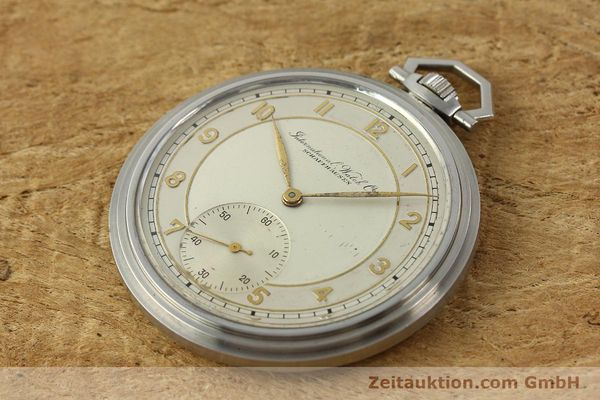 Used luxury watch IWC Taschenuhr steel manual winding Kal. 97 VINTAGE  | 150106 01