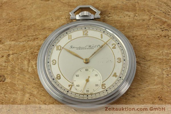Used luxury watch IWC Taschenuhr steel manual winding Kal. 97 VINTAGE  | 150106 02