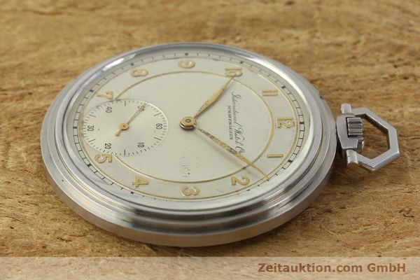 Used luxury watch IWC Taschenuhr steel manual winding Kal. 97 VINTAGE  | 150106 03
