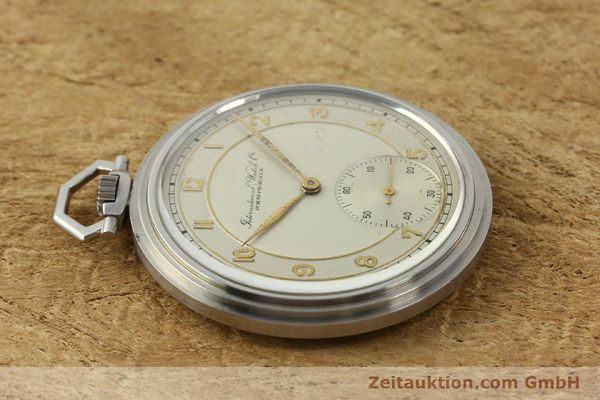 Used luxury watch IWC Taschenuhr steel manual winding Kal. 97 VINTAGE  | 150106 05