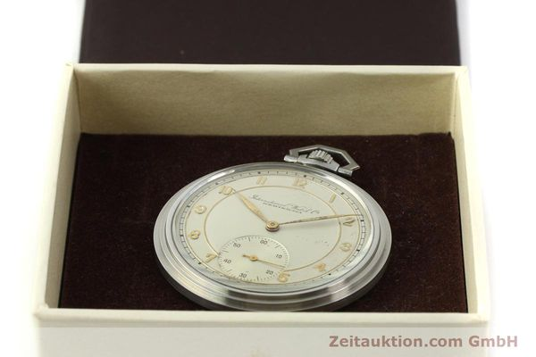 Used luxury watch IWC Taschenuhr steel manual winding Kal. 97 VINTAGE  | 150106 07