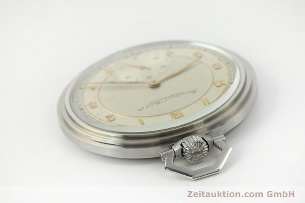 Used luxury watch IWC Taschenuhr steel manual winding Kal. 97 VINTAGE  | 150106 08