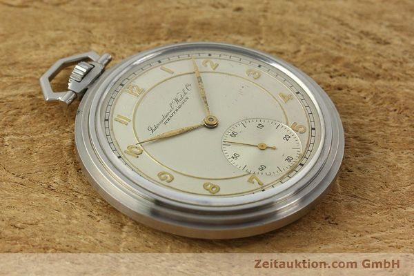 Used luxury watch IWC Taschenuhr steel manual winding Kal. 97 VINTAGE  | 150106 13