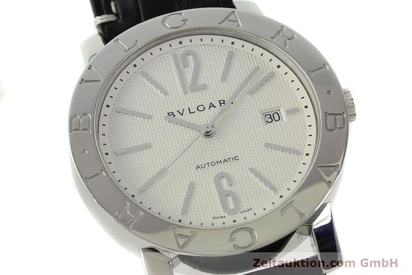Used luxury watch Bvlgari Bvlgari steel automatic Kal. 220 TEEG Ref. BB42SLAUTO  | 150111 02