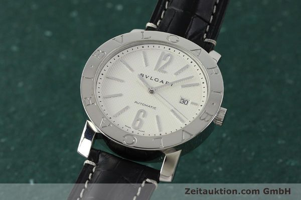 Used luxury watch Bvlgari Bvlgari steel automatic Kal. 220 TEEG Ref. BB42SLAUTO  | 150111 04