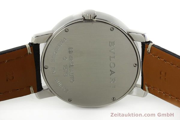Used luxury watch Bvlgari Bvlgari steel automatic Kal. 220 TEEG Ref. BB42SLAUTO  | 150111 09