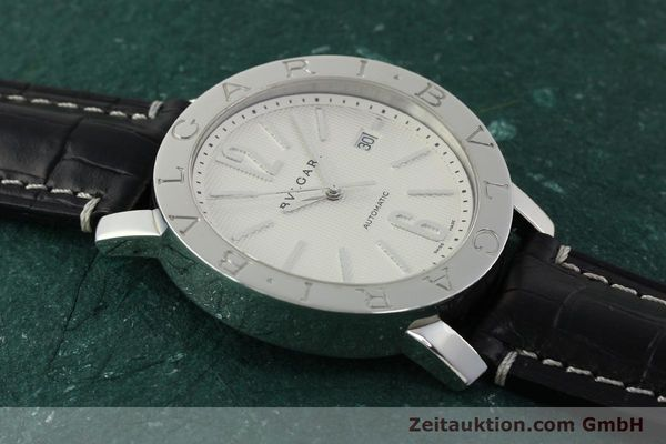 Used luxury watch Bvlgari Bvlgari steel automatic Kal. 220 TEEG Ref. BB42SLAUTO  | 150111 12