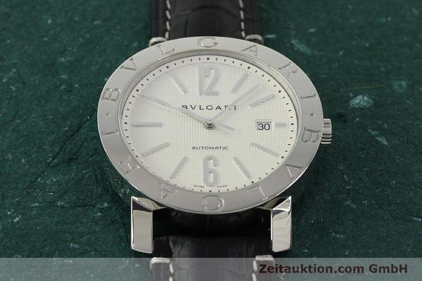 Used luxury watch Bvlgari Bvlgari steel automatic Kal. 220 TEEG Ref. BB42SLAUTO  | 150111 13