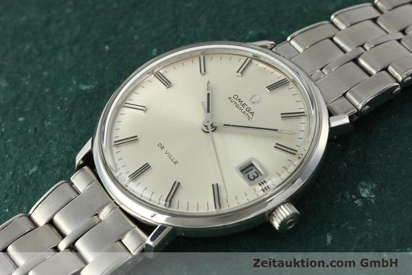 Used luxury watch Omega De Ville steel automatic Kal. 565 Ref. 166.033 VINTAGE  | 150115 01